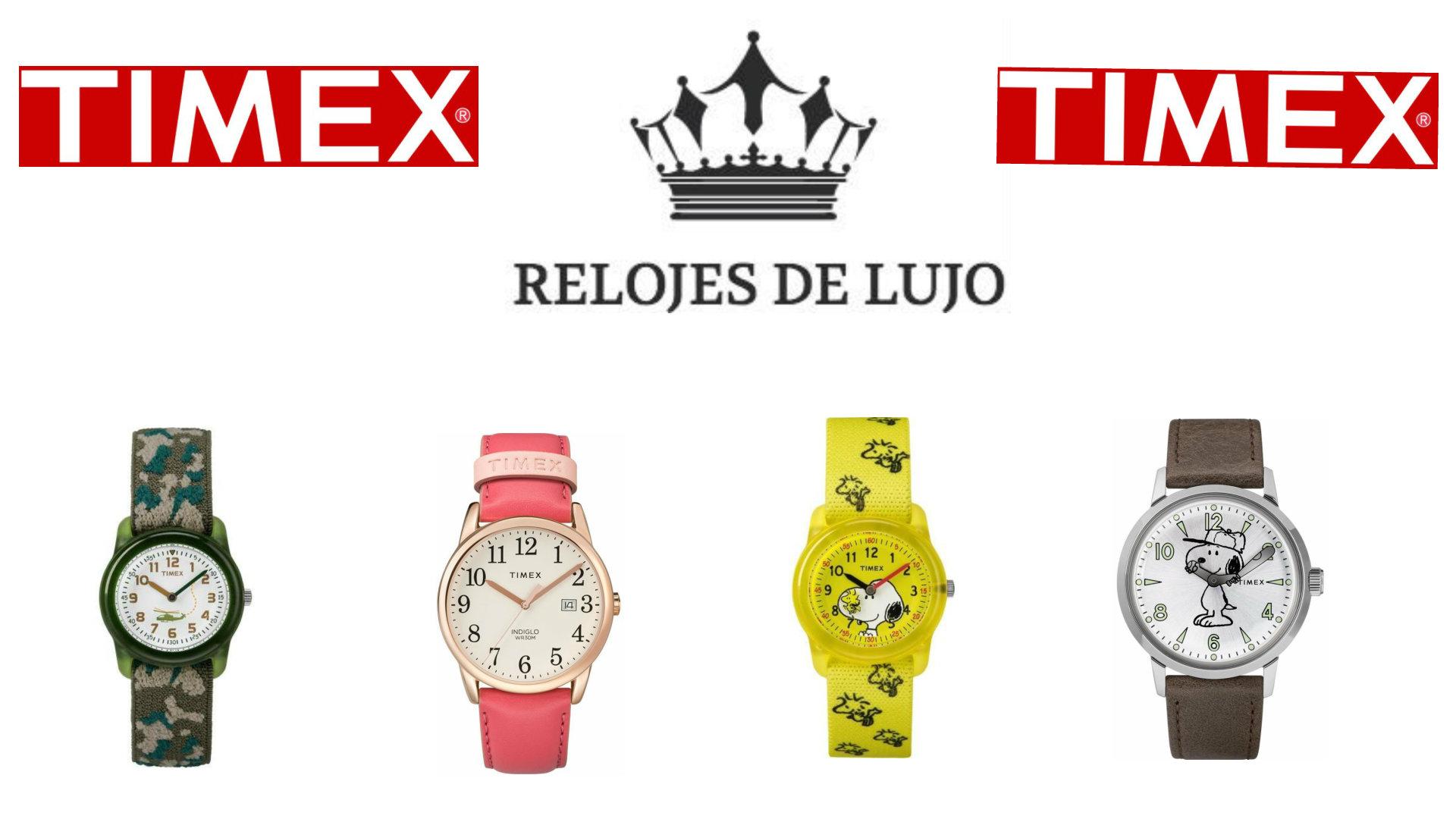 relojes timex
